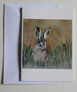 Keeping-Watch-The-Brown-Hare(Card)